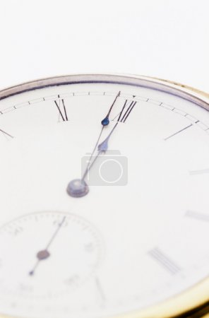 Close Up Of A Clock Face