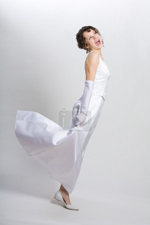 Photo for Bride smiling - Royalty Free Image