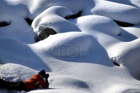 Foto de Fotógrafa, Parque Nacional Jasper, Alberta, Canadá - Imagen libre de derechos