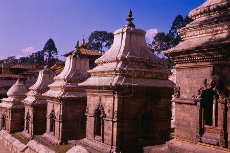Row Of Chaityas, Pashupatinath, Nepal