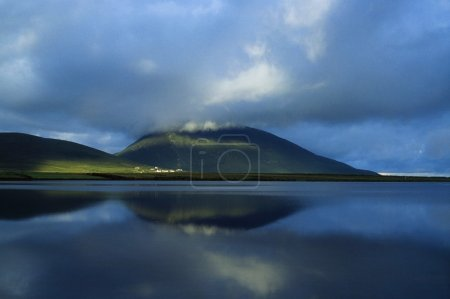 Achill Island, Co Mayo, Ireland, Slievemore And Doogort