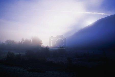Glendalough, Co Wicklow, Ireland, Glendalough In The Mist