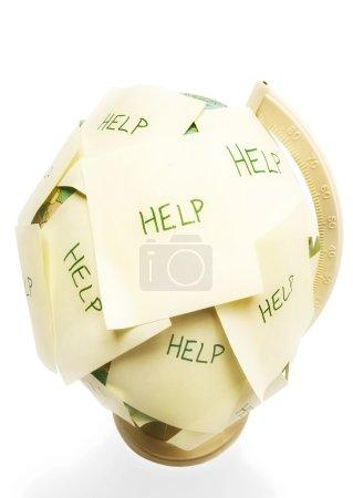 Globe That Needs Help