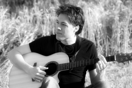 Man With An Acoustic Guitar