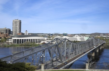 Alexandra Bridge, Ottawa, Ontario, Canada