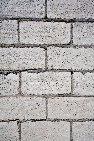 close up of cinder block