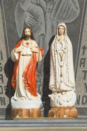 Jésus et Marie icônes