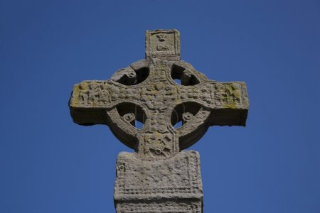 High Cross In The Diamond Market Place, Clones, Co Monaghan, Ireland