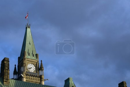 Parliament Building, Peace Tower, Ottawa, Canada