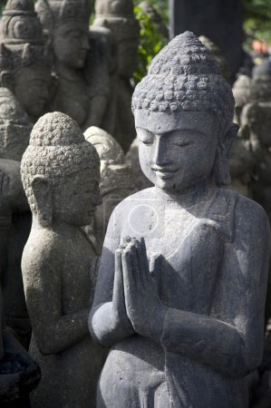Bali, Indonesia, Asia. Stone Statues