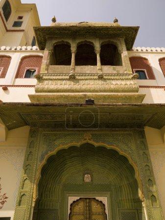 Architectural exterior,  India