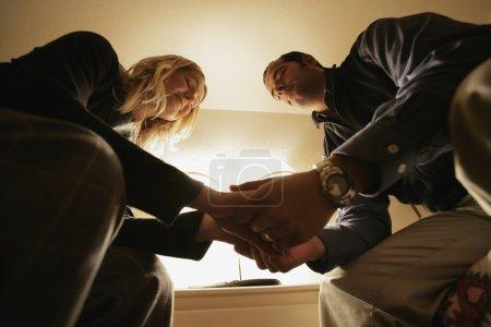 Praying Couple