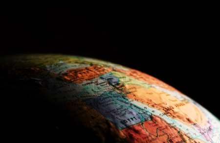 Photo pour Globe, gros plan - image libre de droit