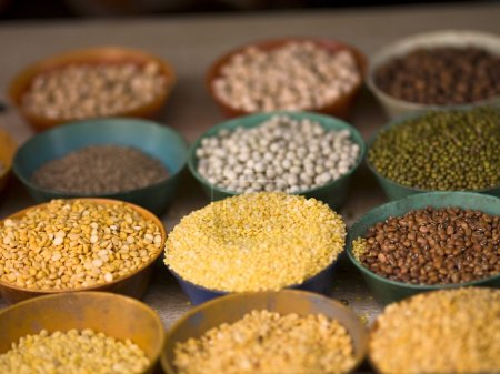 Photo for Dried Beans, Peas And Lentils - Royalty Free Image
