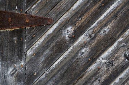 Worn Wooden Door
