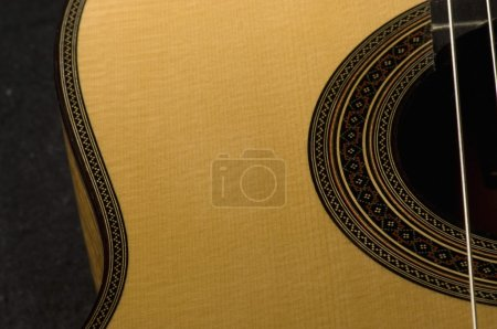 Photo for Close-up of an acoustic guitar - Royalty Free Image