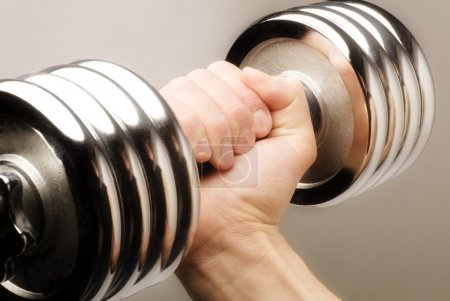 Photo for Lifting Weights - Royalty Free Image