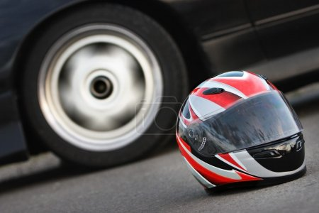 Race Car Helmet