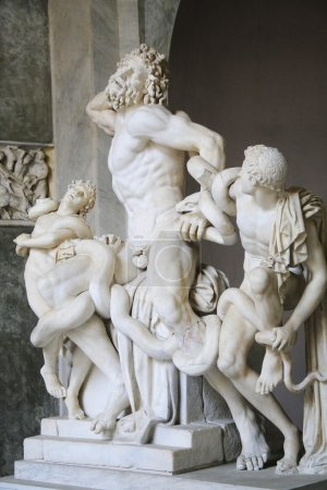 Statue Of Laocoön And His Sons