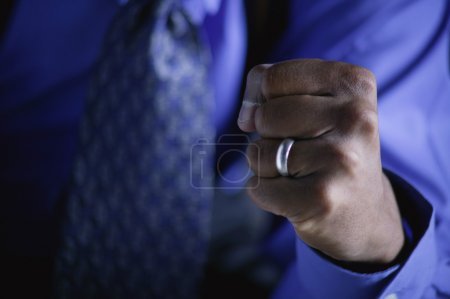 Businessman's Fist