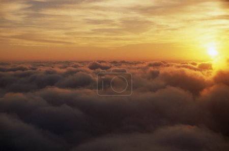 Photo for Sunrise Above Clouds - Royalty Free Image