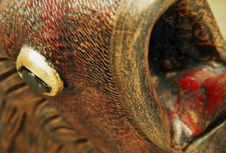 Statue Of A Fish Head