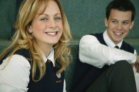 Classmates In Uniform