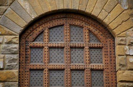 Metal And Wood Door