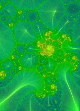 Photo pour Design abstrait vert - image libre de droit