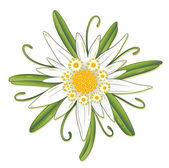 Oktoberfest flower design element
