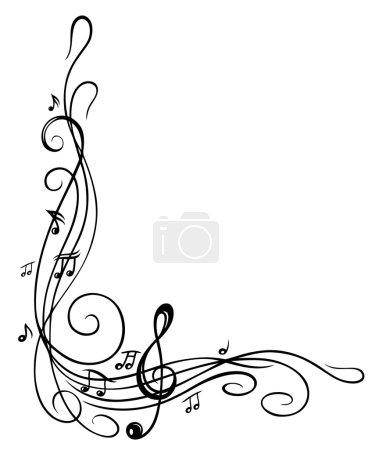 Clef, music sheet