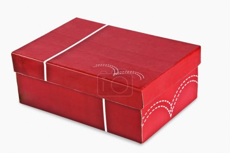 Photo for Close-up of a shoe box - Royalty Free Image