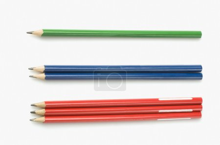 Pencils in a counting order