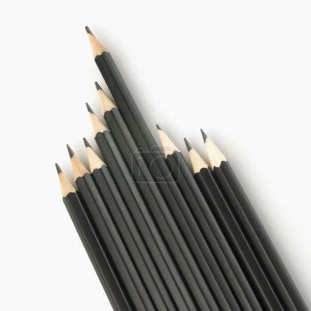 Photo pour Gros plan de crayons - image libre de droit