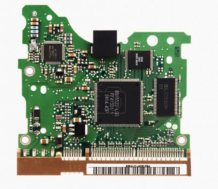 Photo for Close-up of a mother board - Royalty Free Image