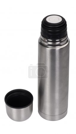 Close-up of an insulated drink flask
