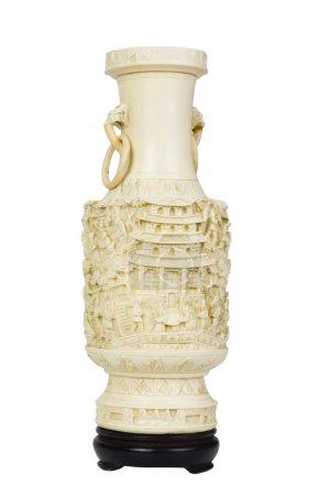 Close-up of a decorative urn