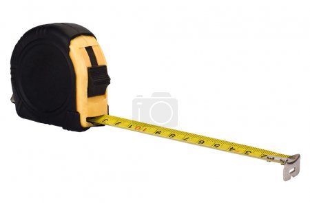 Close-up of a tape measure