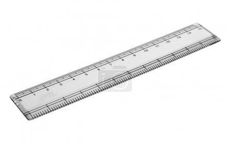 Close-up of a ruler