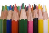 Detail svazek barevných tužek