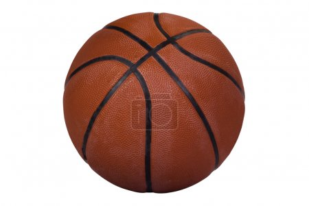 Close-up of a basketball