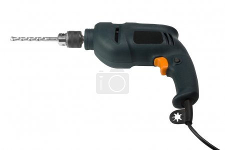Close-up of an electric drill
