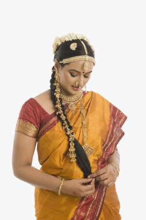 South Indian woman