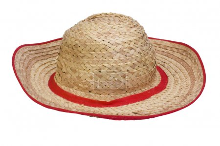 Photo for Close-up of a straw hat - Royalty Free Image