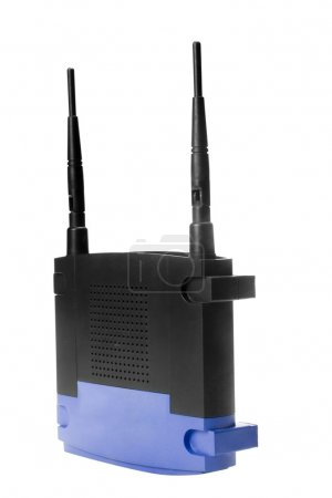 Photo for Close-up of a wireless modem - Royalty Free Image