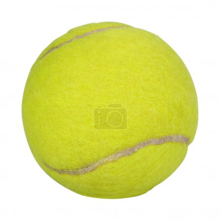 Close-up of a tennis ball
