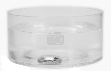 Foto de Primer plano de un mercurio hundido en un recipiente de agua - Imagen libre de derechos