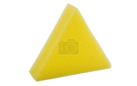 Triangle shaped bath sponge