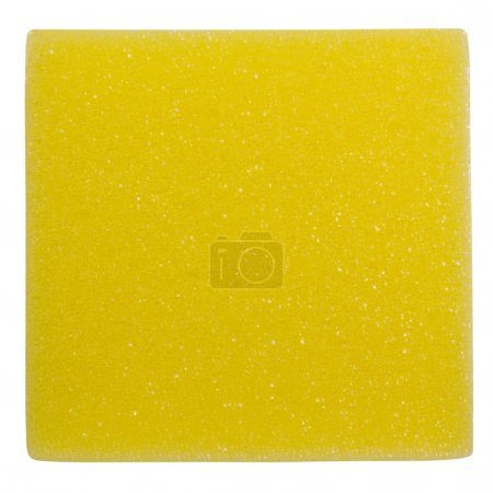 Rectangle shaped bath sponge