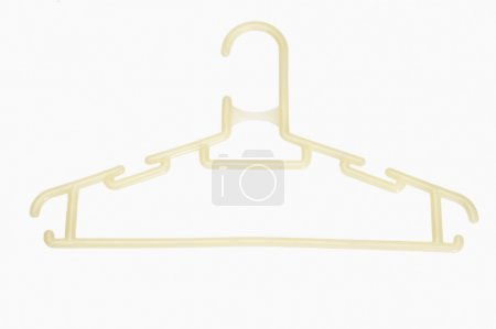 Photo for Close-up of a hanger isolated on white - Royalty Free Image